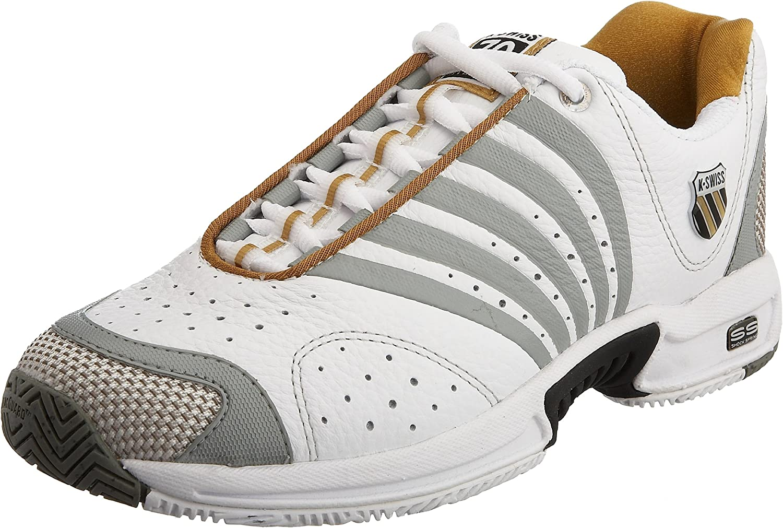 K-Swiss ASCENDOR Leather 91719-168-M, Sautope da Tennis, Donna