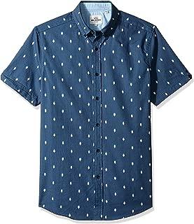 Ben Sherman Men's Ss Ice Lolly Geo Shirt