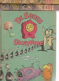 Vintage Dr. Seuss Storytime Box Set of 3 Hardcover ; Horton, Thidwick, Lorax, Zax, Solla Sollew, Yertle, Scrambled Eggs, McElligot's Pool, Bartholomew & Oobleck, etc.