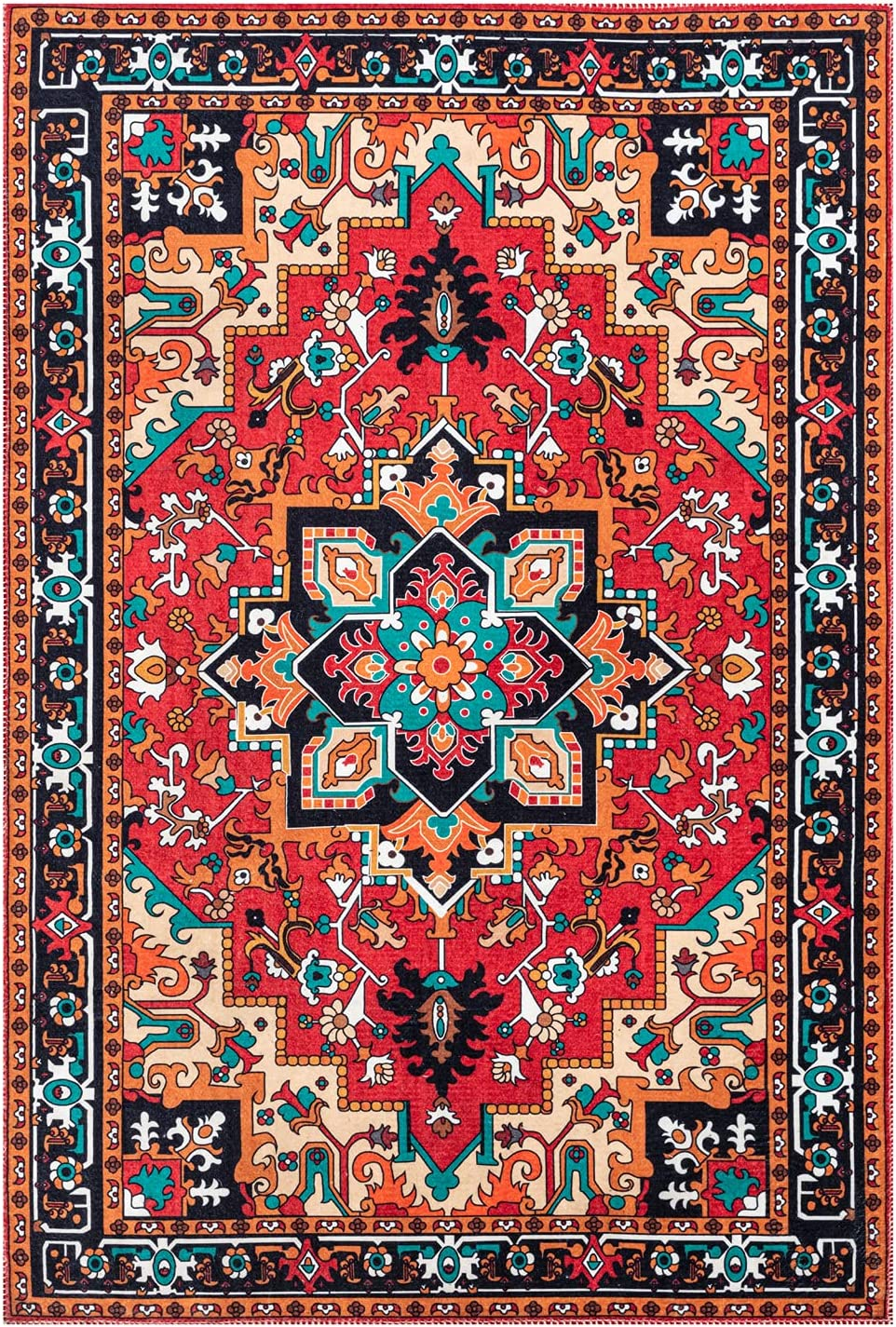3x5 Area Rug - Ranking TOP19 wholesale Traditional Non-Slip Persian Washable