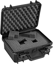 Panaro Max Cases kunststof koffer met schuimstof, hoge dichtheid, zwart, S