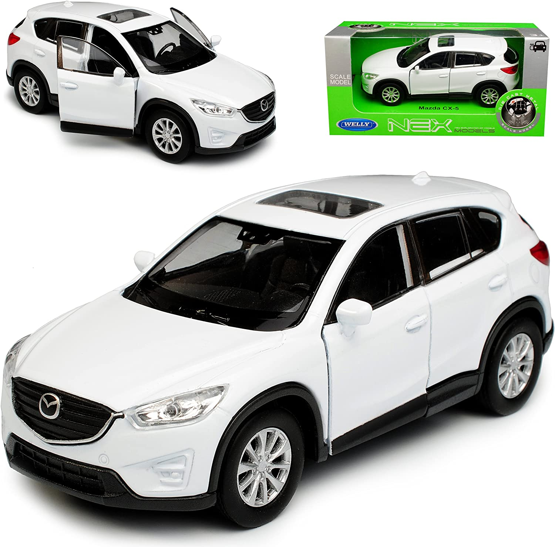 Welly Mazda Cx 5 Ke Suv Weiss 1 Generation 2011 2017 Ca 1 43 1 36 1 46 Modell Auto Mit Individiuellem Wunschkennzeichen Spielzeug