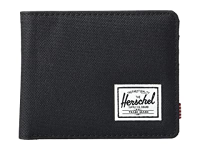 Herschel Supply Co. Roy RFID (Black) Wallet Handbags