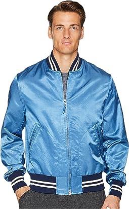 Indigo Satine Varsity Jacket