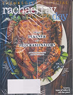 Rachael Ray Every Day November 2019 Thanksgiving Special