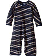 Toobydoo - Sweet Hearts Soft Blue Jumpsuit (Infant)