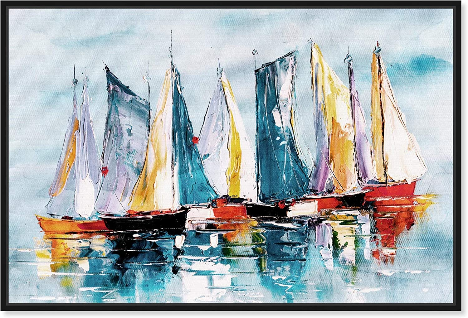 The Oliver Gal Artist Excellence Co. Nautical C Framed Ranking TOP9 Art Coastal and Wall