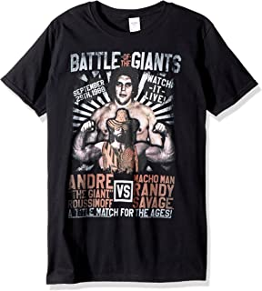 Andre The Giant Versus Match Adult Short Sleeve T-Shirt