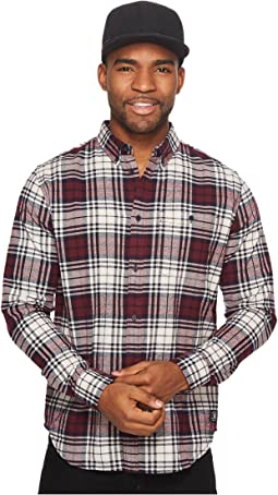 DC - South Ferry Long Sleeve Flannel Top
