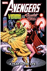 Avengers: Vision and the Scarlet Witch - A Year In The Life (Vision and the Scarlet Witch (1985-1986)) Kindle Edition