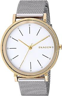 Skagen SKW2508 Reloj para Mujer, color Blanco/Plata