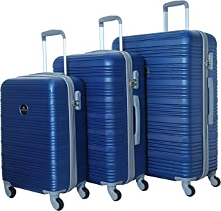 Siddique Lightweight Luggage Set Checked Bag- 20/24/28 Inches Hardshell Suitcase Spinner Luggage for Travel | ABS Luggage ...