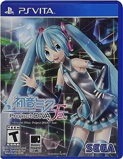 Hatsune Miku: Project Diva F 2nd - PlayStation Vita (Renewed)