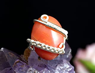 dragons vein agate ring