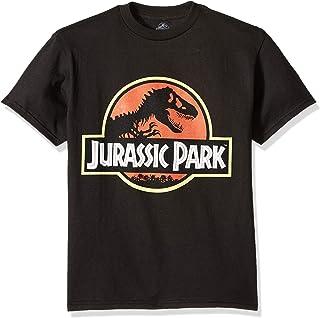Jurassic Park Boys Logo Short Sleeve Tshirt