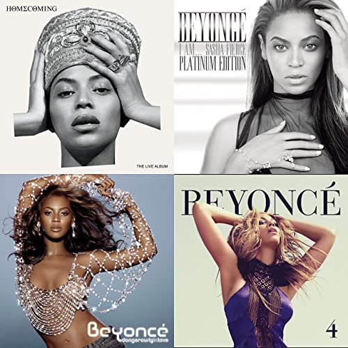 Beyoncé: hits de T.I., Lady Gaga, Slim Thug, Jay-Z ...