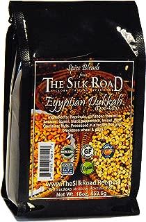 Egyptian Dukkah Spice Blend from The Silk Road Restaurant Bulk 1lb (16oz), No Salt