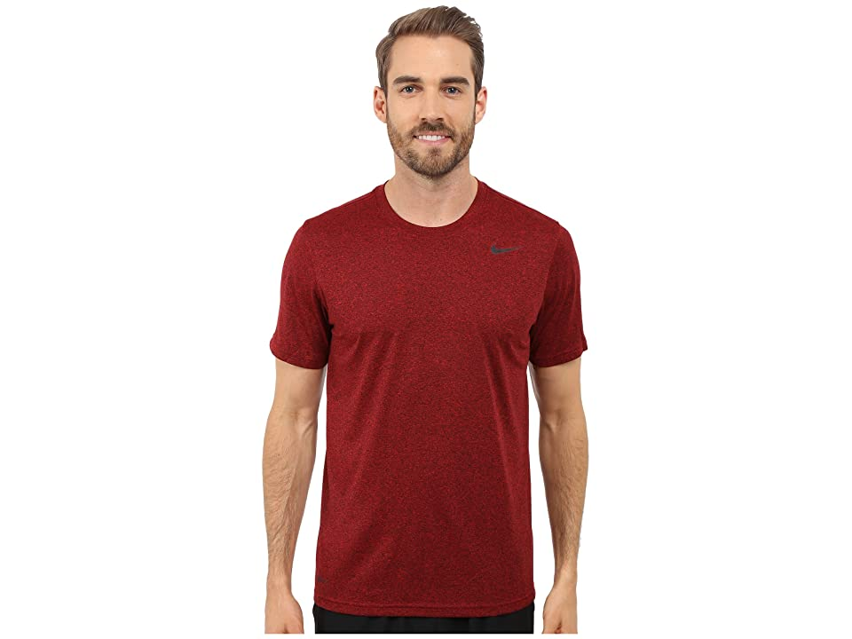 Nike Legend 2.0 Short Sleeve Tee (University Red/Black/Black/Black) Men
