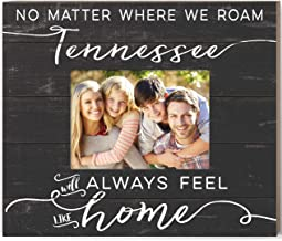 Kindred Hearts Weathered Slat Feels Like Home Tennessee Photo Frame, Multicolor