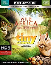 Wild Africa/Tiny Giants (4K Ultra HD)