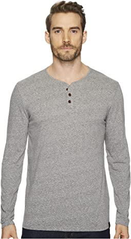 Lucky Brand - Long Sleeve Y-Neck Shirt