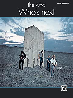 The Who -- Who's Next: Guitar TAB (Alfred's Classic Album Editions)