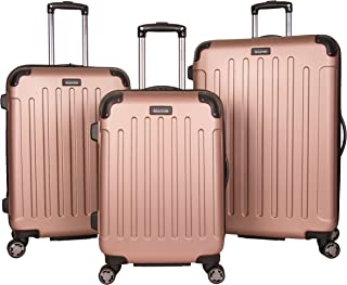 Kenneth Cole Reaction Renegade Lightweight Hardside Expandable 8-Wheel Spinner 3-Piece Luggage Set: 20