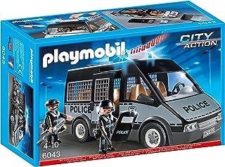 PLAYMOBIL - Furgón de policía con Luces y Sonido (60430