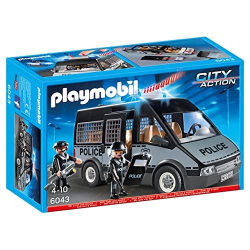 PLAYMOBIL® 6043 Police Van with Lights and Sound