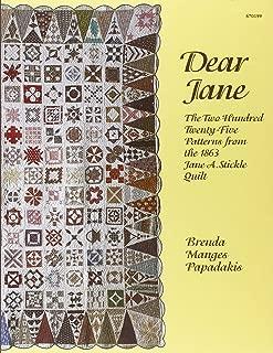 Best dear jane blocks Reviews