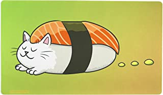 Inked Playmats Sushi Cat Playmat Inked Gaming TCG Game Mat for Cards