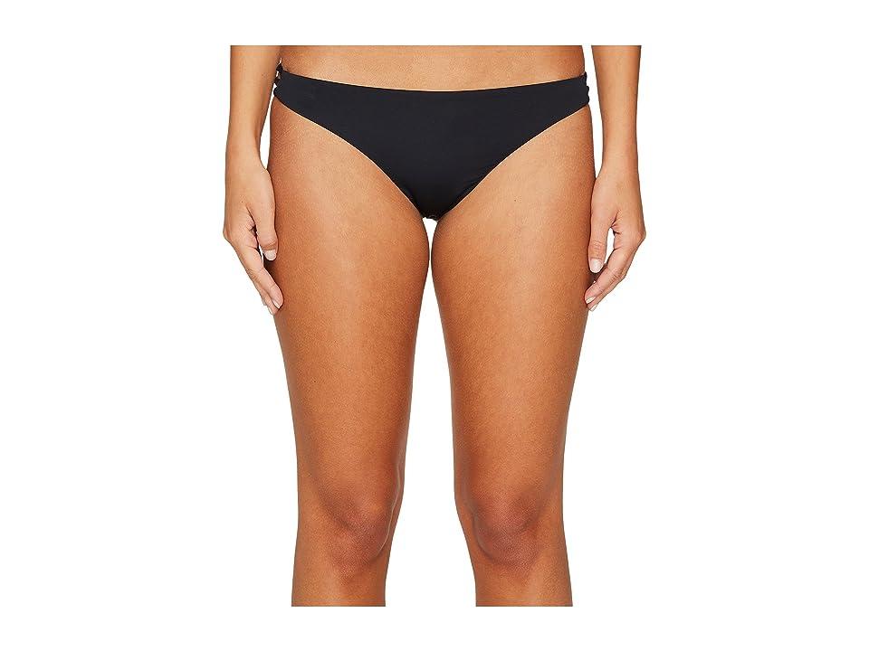 Roxy Strappy Love Surfer Bikini Bottom (Anthracite) Women