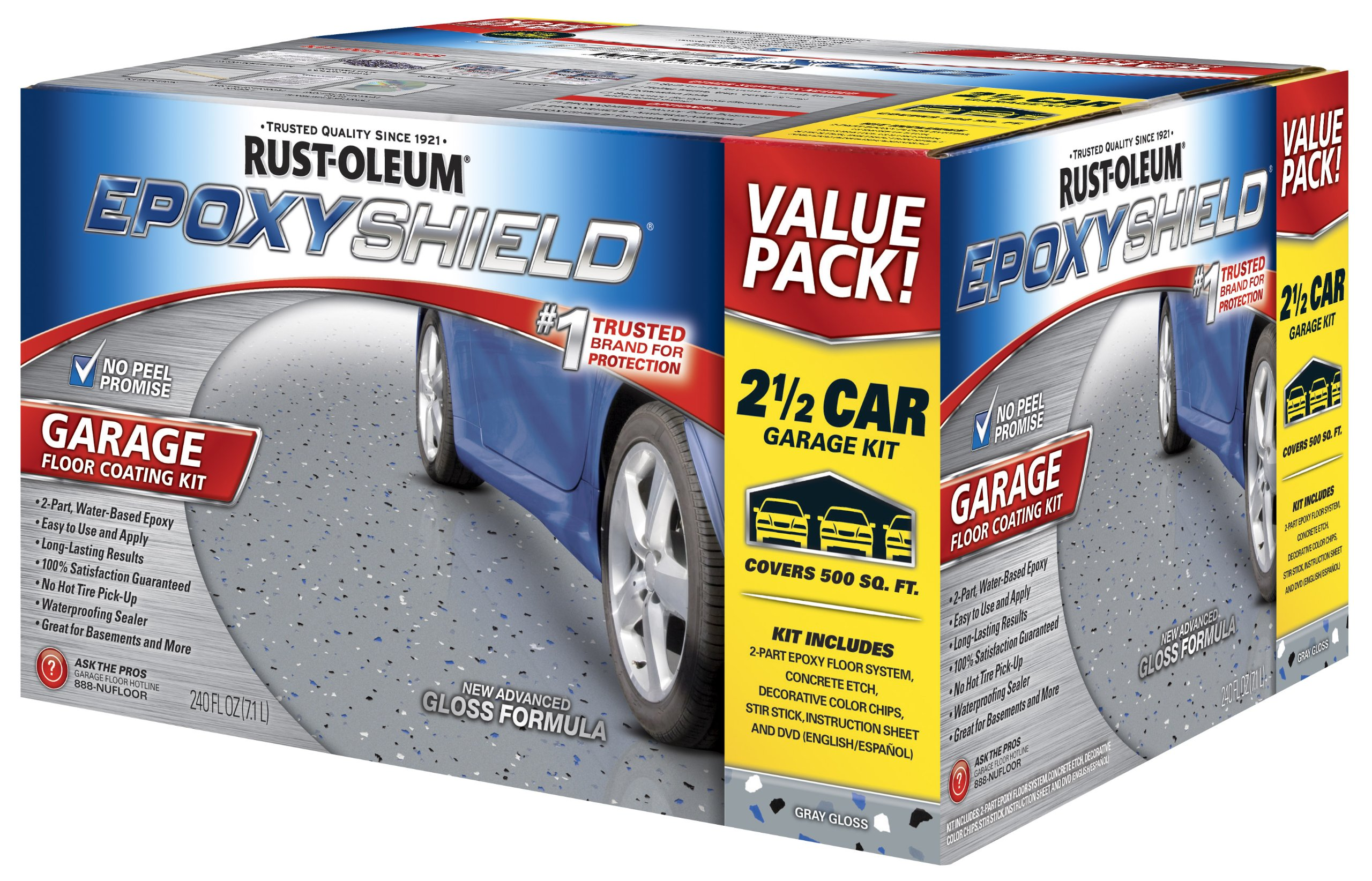 Rust Oleum 261845 EpoxyShield Garage Coating