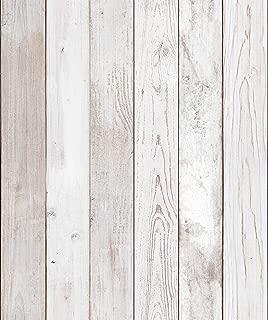 2Pack - Reclaimed Wood Distressed Wood Panel Wood Grain Self-Adhesive Peel-Stick Wallpaper (VBS304(2Pack))