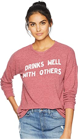 Drinks Well with Others Super Soft Haaci Pullover