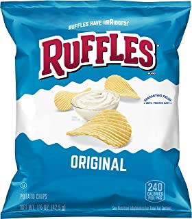 Ruffles Original Potato Chips, 1.5 Ounce (Pack of 64)