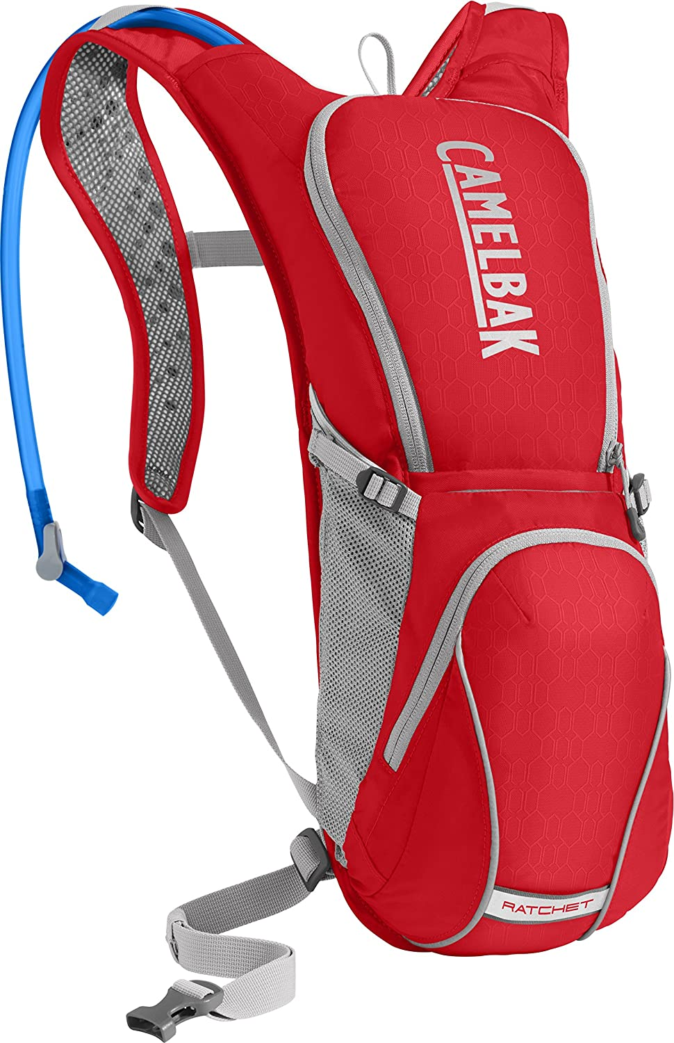 Camelbak 1297601900 Hydration Backpacks Ratchet Racing Red Silver