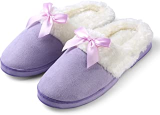 Aerusi Cozy Dreamer Women's Single Pair Slippers, Size 7, Liliac Purple, 2 Piece
