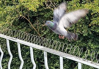 comprar comparacion Gardigo 5 Metros Pinchos Anti-Palomas Espantapajaros Espiral Disuasión Repelente para Aves