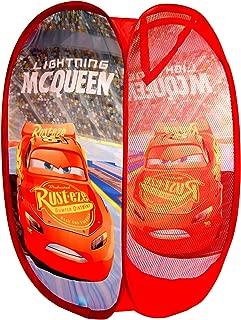 Disney Pixar, Cars Pop Up Laundry,Toys Basket,Storage Bin,Official Licensed