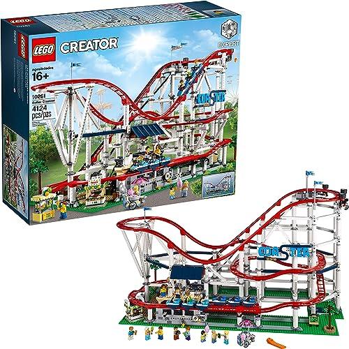 Seleccione de las marcas más nuevas como LEGO- Creator Expert-Montaña Expert-Montaña Expert-Montaña Rusa, Juguete de construcción de atracción de Feria con Todo Detalle (10261)  salida