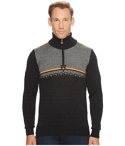 Dale of Norway Lahti Sweater (E-Dark Charcoal/Orange Peel/Smoke) Men