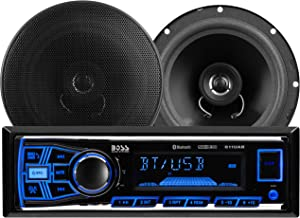BOSS Audio Systems 638BCK Car Stereo Package – Single Din, Bluetooth, – no CD..