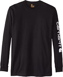 Men's Big & Tall Signature-Sleeve Logo Long-Sleeve T-Shirt