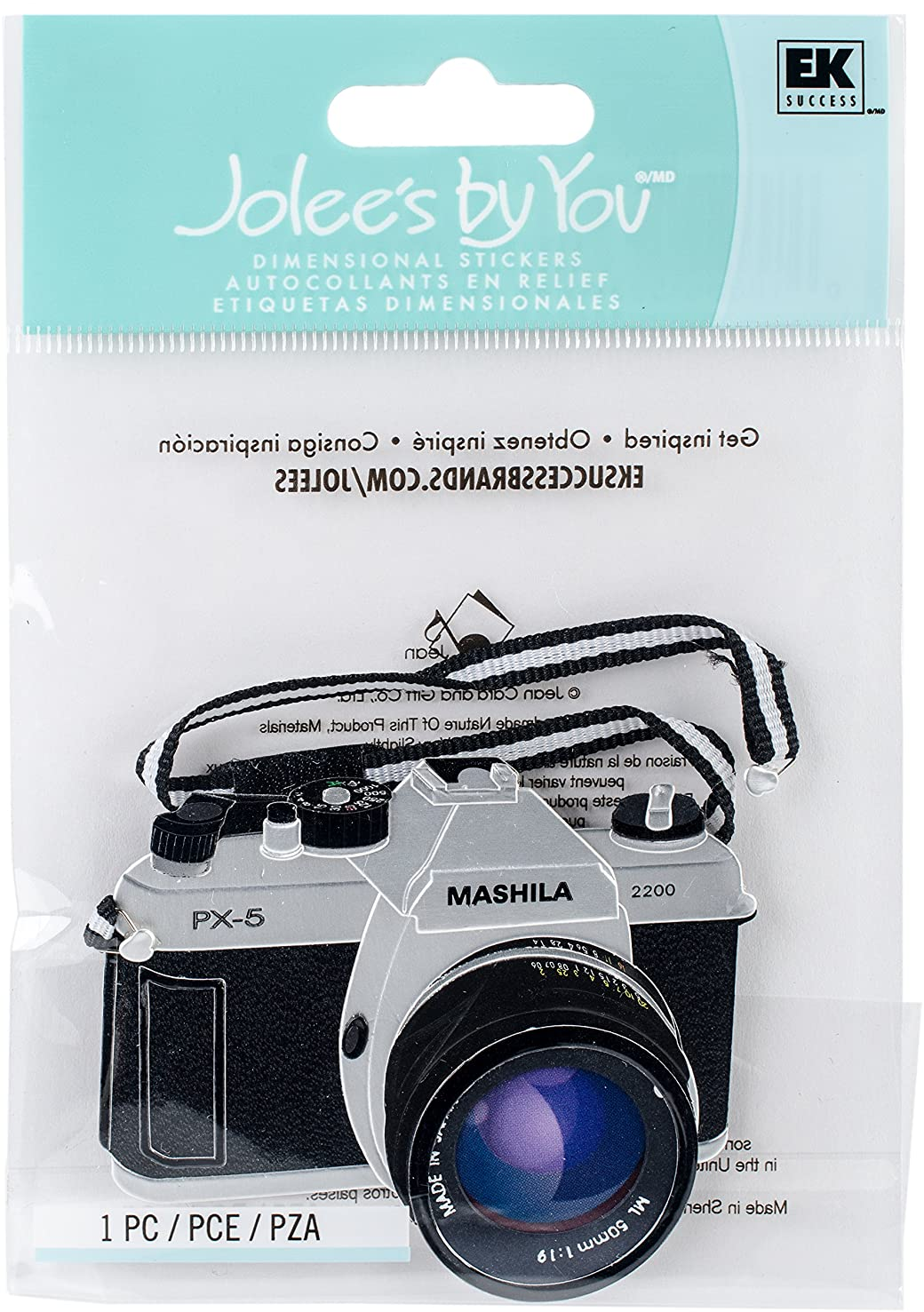 Jolee's By You Dimensional Sticker Large, Camera