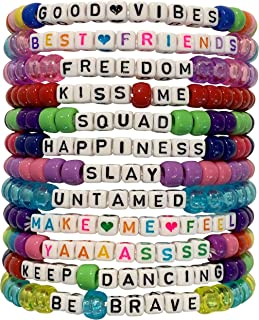Best bead bracelets with words Reviews