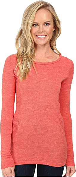 Long Sleeve Go Seamless Wool Top