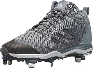 Men's Freak X Carbon Mid Baseball Shoe, Onix, Silver Met, Light Grey, 11 M US