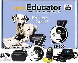 E-Collar - ET-300ZEN - 1/2 Mile Remote Waterproof Trainer Mini Educator - Static, Vibration and Sound Stimulation Collar with PetsTEK Dog Training Clicker