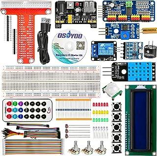 OSOYOO(オソヨー) オープンソース 初心者スターターキット for Raspberry Pi 3 2 Model B 電子工作キット (改良版) ラズベリーパイ IoT